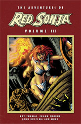 Adventures of Red Sonja Vol. 3 cover 2