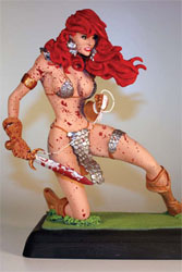 Red Sonja Statue by Adam Hughes