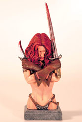 Red Sonja bust