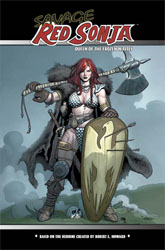 Savage Red Sonja mass market cover