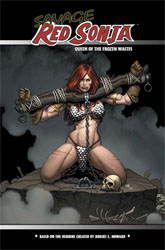 Savage Red Sonja previes exclusive cover