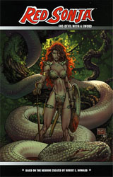 Red Sonja Vol. 1 Michael Turner cover