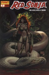 Red Sonja Vol. 4 #1 Michael Turner cover