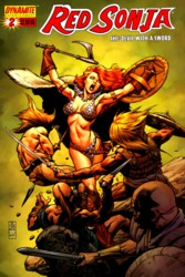 Red Sonja Vol. 4 #2 J.G. Jones cover