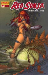 Red Sonja Vol. 4 #4 Marc Silvestri cover