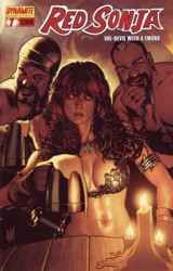 Red Sonja Vol. 4 #7 Adam Hughes cover