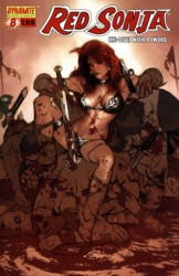 Red Sonja Vol. 4 #8 Adam Hughes cover