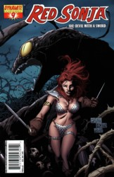 Red Sonja Vol. 4 #9 Billy Tan cover