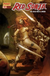 Red Sonja Vol. 4 #11 Pat Lee cover