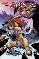 Red Sonja Vol. 4 #12 Jim Lee cover