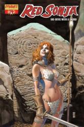 Red Sonja Vol. 4 #14 J.G. Jones cover