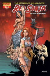 Red Sonja Vol. 4 #17 Mel Rubi cover
