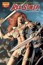Red Sonja Vol. 4 #18 Gene Ha cover