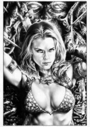 Red Sonja by Jay Anacleto