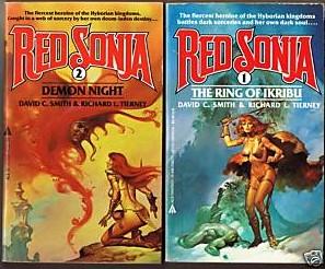 Red Sonja novels