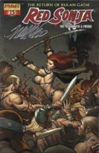 Red Sonja #13 signed by Frank Cho