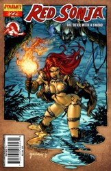 Red Sonja Vol. 4 #22 Stephen Segovia cover