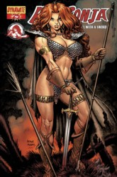 Red Sonja Vol. 4 #25 Art Adams cover