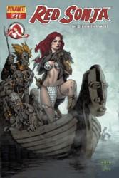 Red Sonja Vol. 4 #27 Mel Rubi cover