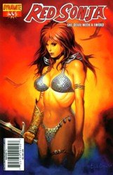 Red Sonja Vol. 4 #33 Ken Kelly cover
