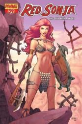Red Sonja Vol. 4 #34 Mel Rubi cover
