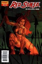 Red Sonja Vol. 4 #36 Mel Rubi cover