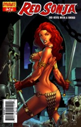 Red Sonja Vol. 4 #37 Mel Rubi cover