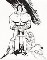 Conan and Red Sonja by Michael Avon Oeming