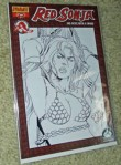Original Red Sonja sketch#113  by Pablo Marcos