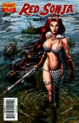 Red Sonja Vol. 4 #46 Mel Rubi cover