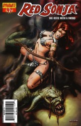 Red Sonja Vol. 4 #47 Mel Rubi cover