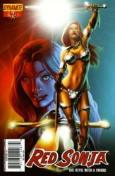 Red Sonja Vol. 4 #48 Mel Rubi cover