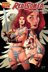 Red Sonja Vol. 4 #49 Mel Rubi cover