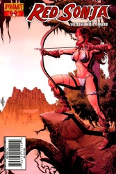 Red Sonja #44 Jackson Herbert cover