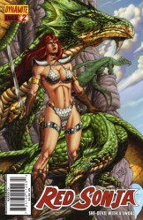 Red Sonja Annual #2 Pablo Marcos cover