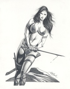 Red Sonja by David Michael Beck