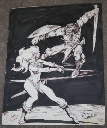 Conan Vs. Red Sonja