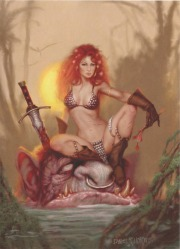 Red Sonja by Daniel R. Horne