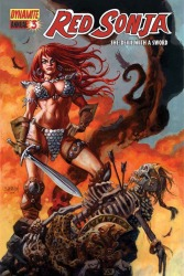 Red Sonja Annual #3 Dan Brereton cover