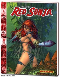 The Art of Red Sonja Hardcover