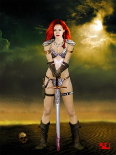 Rose McGowan as Red Sonja