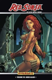 Red Sonja Vol. 7: Born Again trade paperback