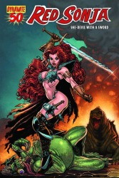 Red Sonja #50 Art Adams cover