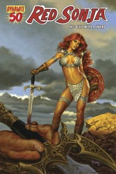Red Sonja #50 Joe Jusko cover