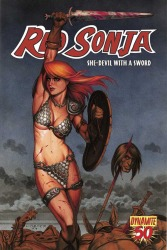 Red Sonja #50 Joseph Michael Linsner cover