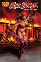 Red Sonja #51 Joseph Michael Linsner cover