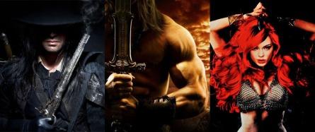 Solomon Kane, Conan & Red Sonja