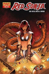 Red Sonja #52 Paul Renaud cover