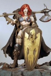 Red Sonja Statue by Frank Cho