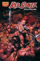 Red Sonja #55 Patrick Berkenkotter cover